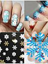 1pcs Sticker Manucure  Autocollants 3D pour ongles Maquillage cosmetique Manucure Design