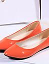 Damă Pantofi Flați Confortabili Piele Originală Toamnă Casual Confortabili Toc Plat Portocaliu Galben Albastru Roz Coral Plat