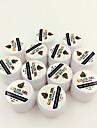 12 couleur gel belle peinture de couleur pure pop frappe 5ml uv kit gel des ongles a sechage rapide