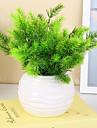 1 Une succursale Plastique Plantes Fleur de Table Fleurs artificielles 34CM