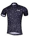 Sport Cykeltröja Herr Kort ärm CykelAndningsfunktion / Snabb tork / Anatomisk design / Dragkedja fram / Reflexremsa / Back Pocket /