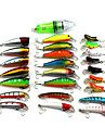 25 pcs Fishing Lures Hard Bait Random Colors 10 g Ounce mm inch,Hard Plastic Bait Casting