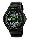 SKMEI Bărbați Ceas Sport Ceas Militar Ceas de Mână Quartz Quartz JaponezLED LCD Calendar Rezistent la Apă Zone Duale de Timp alarmă