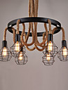 Lumini pandantiv ,  Tradițional/Clasic Rustic/ Cabană Vintage Retro Țara Vopsire Caracteristică for Stil Minimalist MetalSufragerie