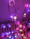 feux de lumiere scintillent LED clignotante un lampes classiques Lustres a billes christmas 9 metres socket 40 de la lampe