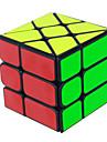 Yongjun® Cube de Vitesse  3*3*3 Vitesse Cubes magiques Jouet Educatif Noir Blanc Autocollant lisse / Anti-pop ressort reglable ABS