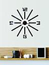 Moderne/Contemporain / Bureau / Affaires Niches / Famille / Ecole/Diplome / Amis Horloge murale,Nouveaute Verre / Plastique 45CM/17.7inch