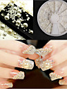 1 nagel konst Decoration Strass Pearls skönhet Kosmetisk nagel konst Design