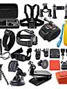 Accessoires pour GoPro,Etui de protection Monopied Trepied Sacs Vis Buoy Grande Fixation Ventouse Camera Sportive Avec Bretelles Fixation