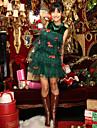 Costumes de Cosplay Vert Terylene Accessoires de cosplay Noel / Carnaval / Nouvel an