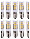 10Pcs Trådbunden Others E14 51Led Smd2835 5w  850Lm AC220   White Warm Natural White Small Ceramic Corn Lamp Övrigt
