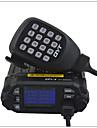 QYT Fordonsmonterad Analog KT-8900DFM-radio Nödlarm Programmerbar med PC-mjukvara Röstprompt VOX bakgrundsbelysning Hög och låg
