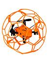 Drone 1340 4 Canaux 6 Axes - Eclairage LED Retour Automatique Mode Sans Tete Vol Rotatif De 360 Degres Quadri rotor RC Telecommande