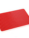 non stick silikon bbq pyramid pan fett minska halk ugn bakning grill kolgrill oljefilter pad fack ark matlagning matta