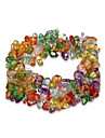 Bracelet Chaines & Bracelets Cristal Anniversaire / Quotidien Bijoux Cadeau Couleur Assortie,1pc