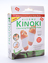 Plaquettes de pieds de desintoxication nettoyage (10pads)