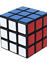 Shengshou® Mjuk hastighetskub 3*3*3 Hastighet Magiska kuber Utbildningsleksak Svart Blekna Ivory slät klistermärke /Anti-pop justerbar