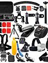 Accessoires pour GoPro,Insert Antibuee Caisson Camera Sportive Etui de protection Monopied Trepied Sacs Vis Buoy Grande Fixation Ventouse