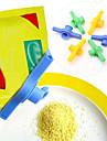 Sockersaltförseglingspåse kläm urladdningsmunstycke matrör förseglad klämhylsa med utlopp
