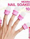 10 Nail Art Kits Nail Art Manikyr Tool Kit makeup Kosmetisk Nail Art DIY
