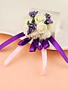 Flori de Nuntă Rotund Trandafiri Corsaj de mână Nuntă Petrecere / Seară Satin