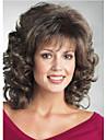 style africain de la mode perruque brune de haute qualite fil a haute temperature courte perruque de cheveux boucles