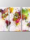 toile set Paysages Abstraits Moderne,Trois Panneaux Toile Horizontale Imprimer Art Decoration murale For Decoration d\'interieur