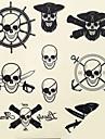 Tatouages Autocollants Non Toxique MotifHomme Femme Adulte Adolescent Tatouage Temporaire Tatouages temporaires