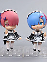 Anime de acțiune Figurile Inspirat de Cosplay Rem PVC 10 CM Model de Jucarii păpușă de jucărie