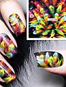 1 Nail Art Sticker Vatten Transfer Dekaler makeup Kosmetisk Nail Art Design