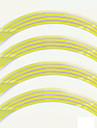 mode reflekterande fälg rand band cykel motorcykel polyetentereftalat hjul sticker biltillbehör