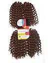Pre-loop Virka Braids Hårförlängningar 9Inch Kanekalon 1 Package For Full Head Strå 170g gram Hair Braids