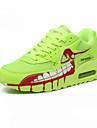 Femme-Exterieure Sport-Noir Vert Rouge Or-Talon Bas-Confort-Chaussures d\'Athletisme-Tulle Similicuir