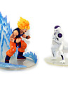 Anime Actionfigurer Inspirerad av Dragon Ball Goku Animé Cosplay Accessoarer figur Vit PVC