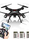 Drone SYMA X5SW 4 Canaux 6 Axes 2.4G Avec Camera Quadri rotor RCFPV Eclairage LED Retour Automatique Mode Sans Tete Vol Rotatif De 360