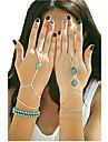 Brățări Brățări cu Talismane Ring Bracelets Aliaj Turcoaz Others Design Unic La modă Petrecere Zilnic Casual Bijuterii CadouAuriu Bronz