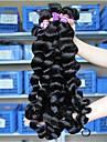 """3 Pieces Ondulation Lache Tissages de cheveux humains Cheveux Bresiliens 100 10""""30"""" Extensions de cheveux humains"""