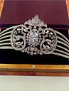 Pentru femei Zirconiu Cubic Diadema-Nuntă Tiare 1 Bucată