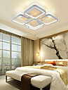 Takmonterad ,  Modern Rektangulär Särdrag for Flush Mount Lights MetallVardagsrum Sovrum Dining Room Skaka pennan och tryck på spetsen
