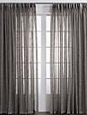 Un Panneau Le traitement de fenetre Rustique , Solide Chambre a coucher Materiel Rideaux opaques Decoration d\'interieur For Fenetre