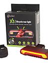 Cykellyktor LED Laser LED Cykelsport Fjärrkontroll Superlätt Lithiumbatteri Lumen Batteri Röd Gul Cykling Utomhus