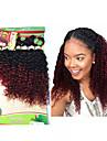 A Ombre Cheveux Bresiliens Boucle 6 Mois 1 Piece tissages de cheveux
