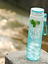Depoli Transparente Aller Outdoor Articles pour boire, 480 ml Bouteille Etanche Portable Verre Polypropylene Eau Boisson gazeuse