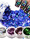 1bottle Nail Art-dekoration Strasspärlor makeup Kosmetisk Nail Art-design