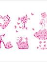 Animale Botanic Florale Perete Postituri Autocolante perete plane Autocolante de Perete Decorative,Vinil Material Pagina de decorarede