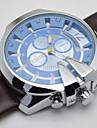 Bărbați pentru Doamne Unisex Ceas Sport Ceas La Modă Ceas de Mână Calendar Quartz Piele Autentică Bandă Vintage Casual Luxos Multicolor