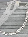 Femei Cristal Diadema-Nuntă Ocazie specială Cordeluțe 1 Bucată