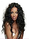 fullt spets peruk brasilianskt jungfru människohår vatten våg peruk för afroamerikanska kvinnor