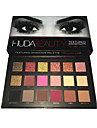 18 colors eye shadow Palette Fard a paupieres Sec Palette Fard a paupieres Poudre Set Maquillage Quotidien