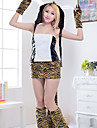 Costumes de Cosplay / Costume de Soiree Soldat/Guerrier Fete / Celebration Deguisement Halloween Beige MosaiqueHaut / Jupe / Gants /